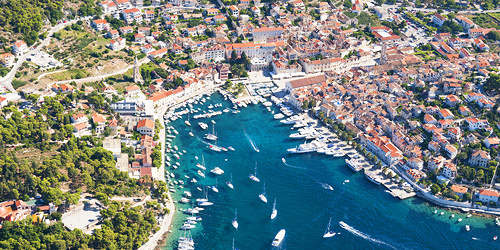 Hvar Town feature