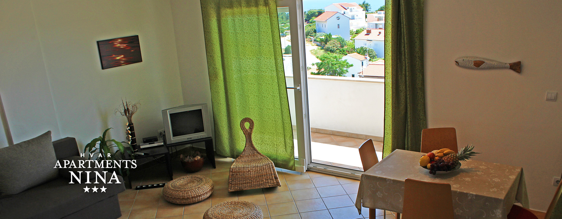 Apartments Nina in the town of Hvar
